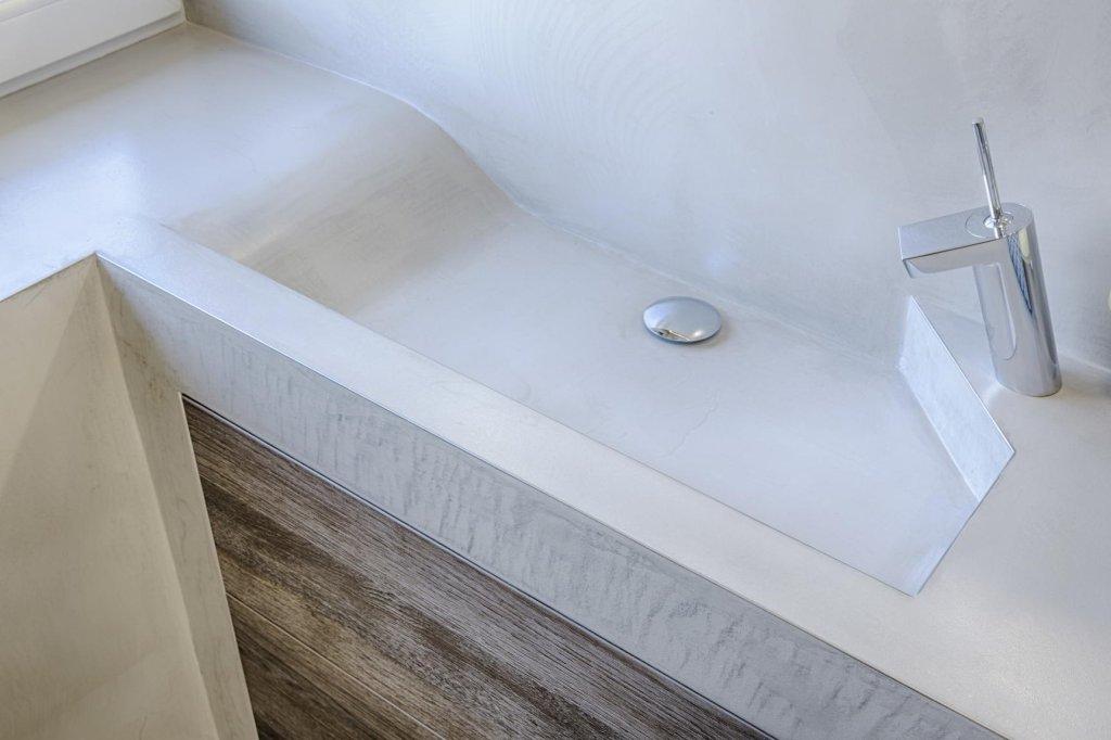 Microcement im Badezimmer