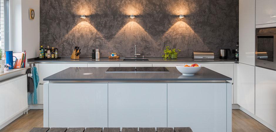 Wandgestaltung in der Küche - malermeister-stapel.de
